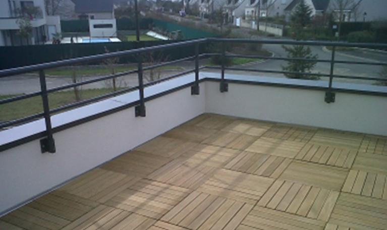 Une toiture terrasse construite par CLS Étanchéité près de Tours (37)